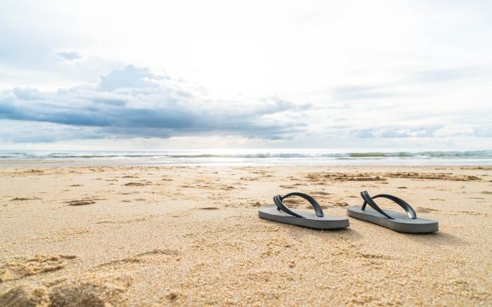 sandals on beach toastmasters vacation speech